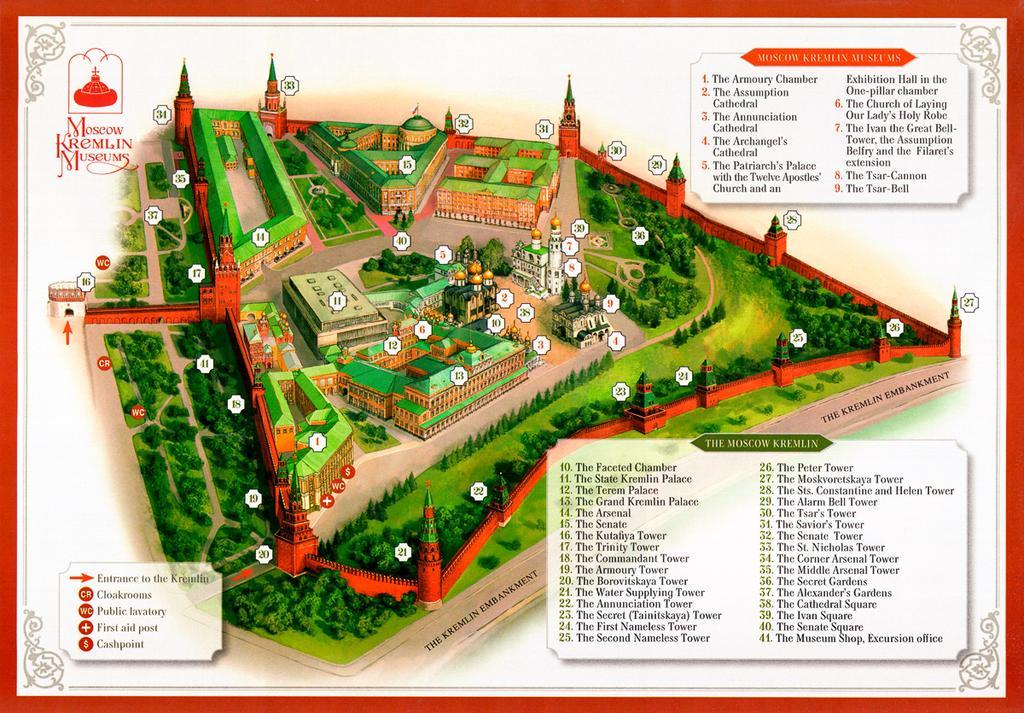 پلن و نقشه کرملین