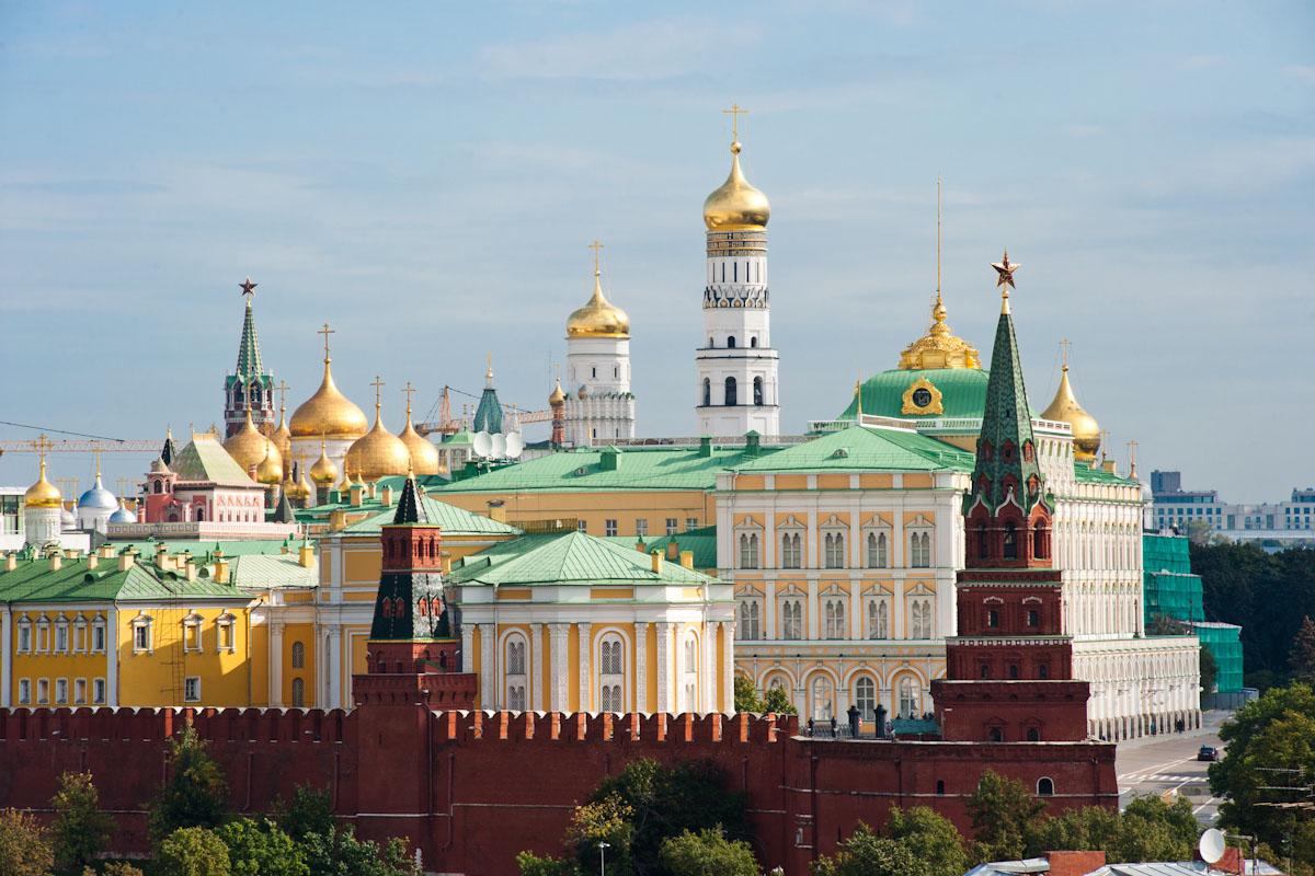 کاخ و کلیساهای کرملین
