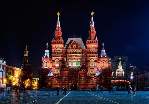 فیلم جاذبه های گردشگری مسکو