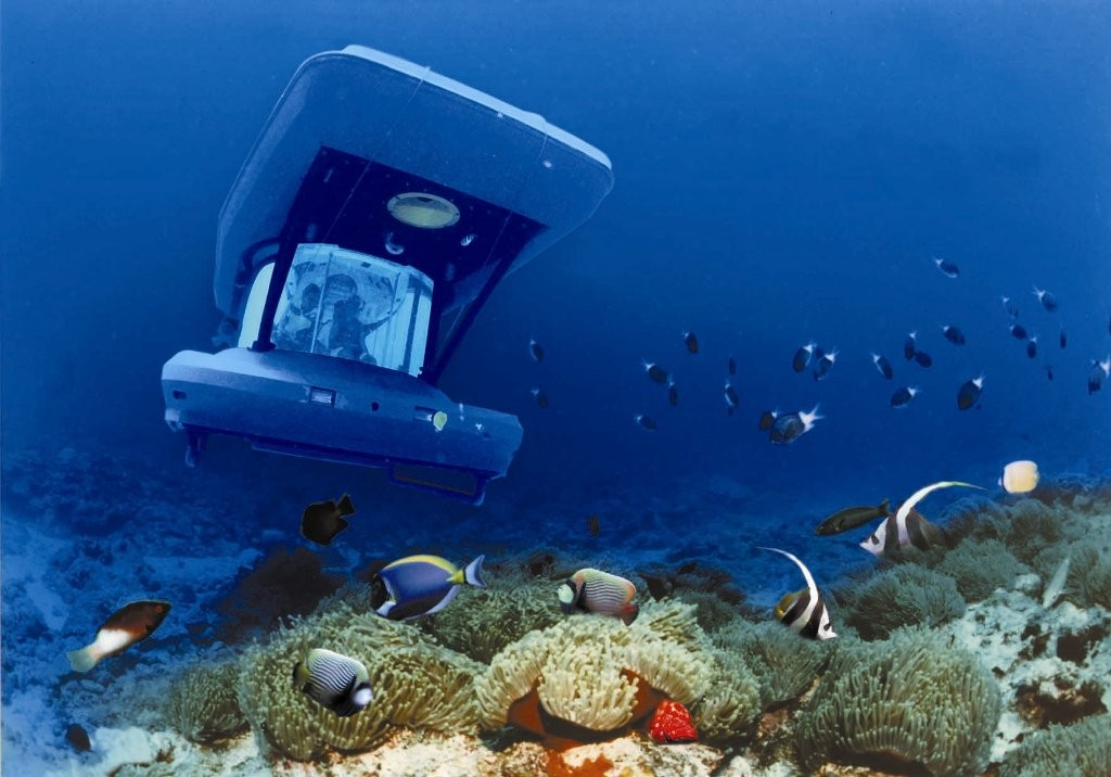 زیر دریایی توریستی موریس