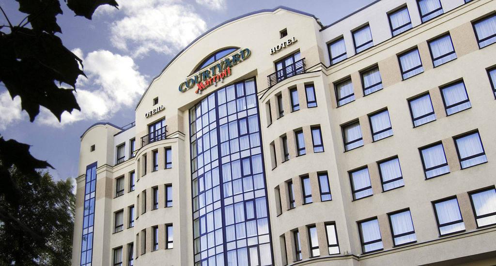 هتل ماریوت کورت یارد وست پوشکین سنت پترزبورگ