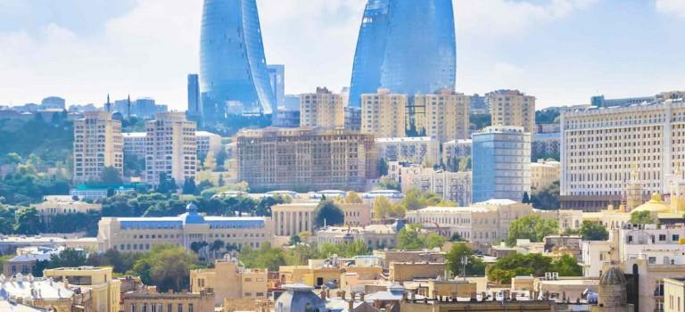 فیلمی از جاذبه های گردشگری باکو آذربایجان