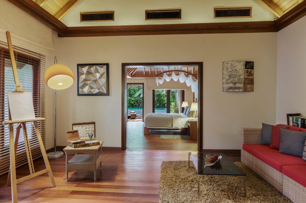 عکس اتاق های هتل باروس مالدیو