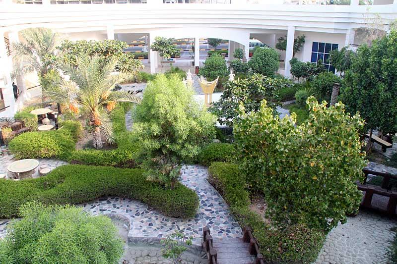 محوطه هتل 4* هلیا کیش