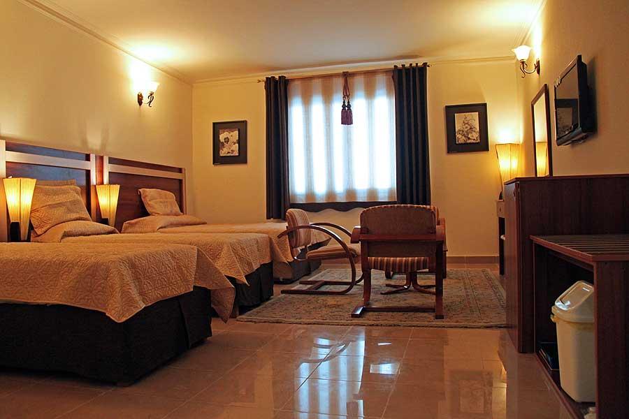 اتاق های هتل هلیا