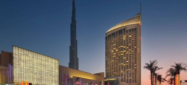 هتل دی آدرس دبی مال دبی