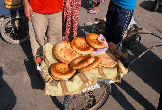 بازارچه های محلی سمرقند