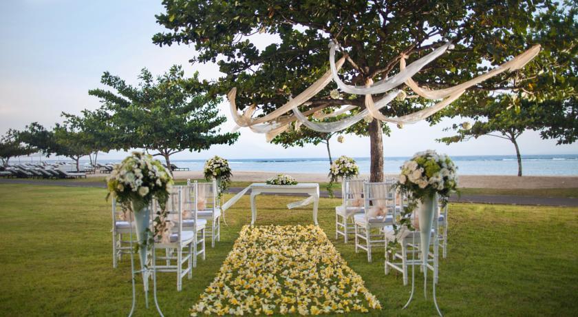 جشن عروسی در هتل سوفیتل بالی