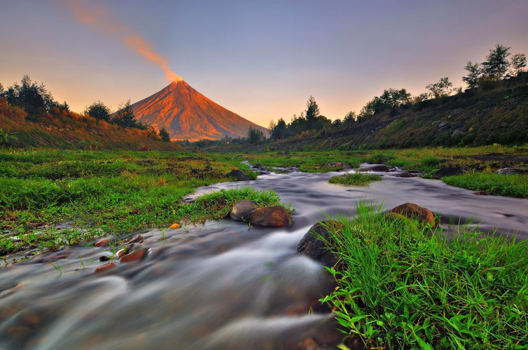 آتشفشان مایون فیلیپین