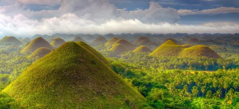 تپه های شکلاتی بهل فیلیپین | جاذبه های گردشگری فیلیپین