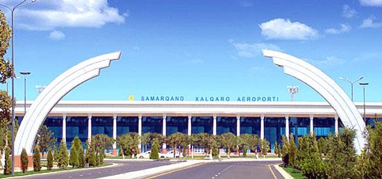 فرودگاه سمرقند