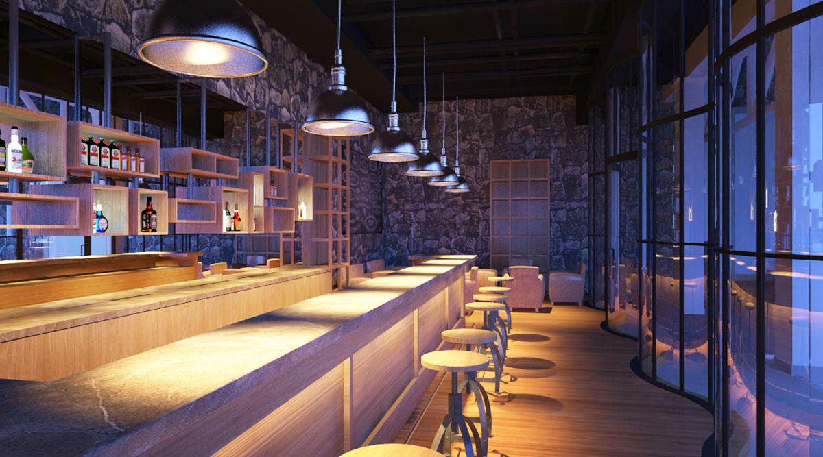 کافه هتل راونالا اتیتود 4 ستاره موریس
