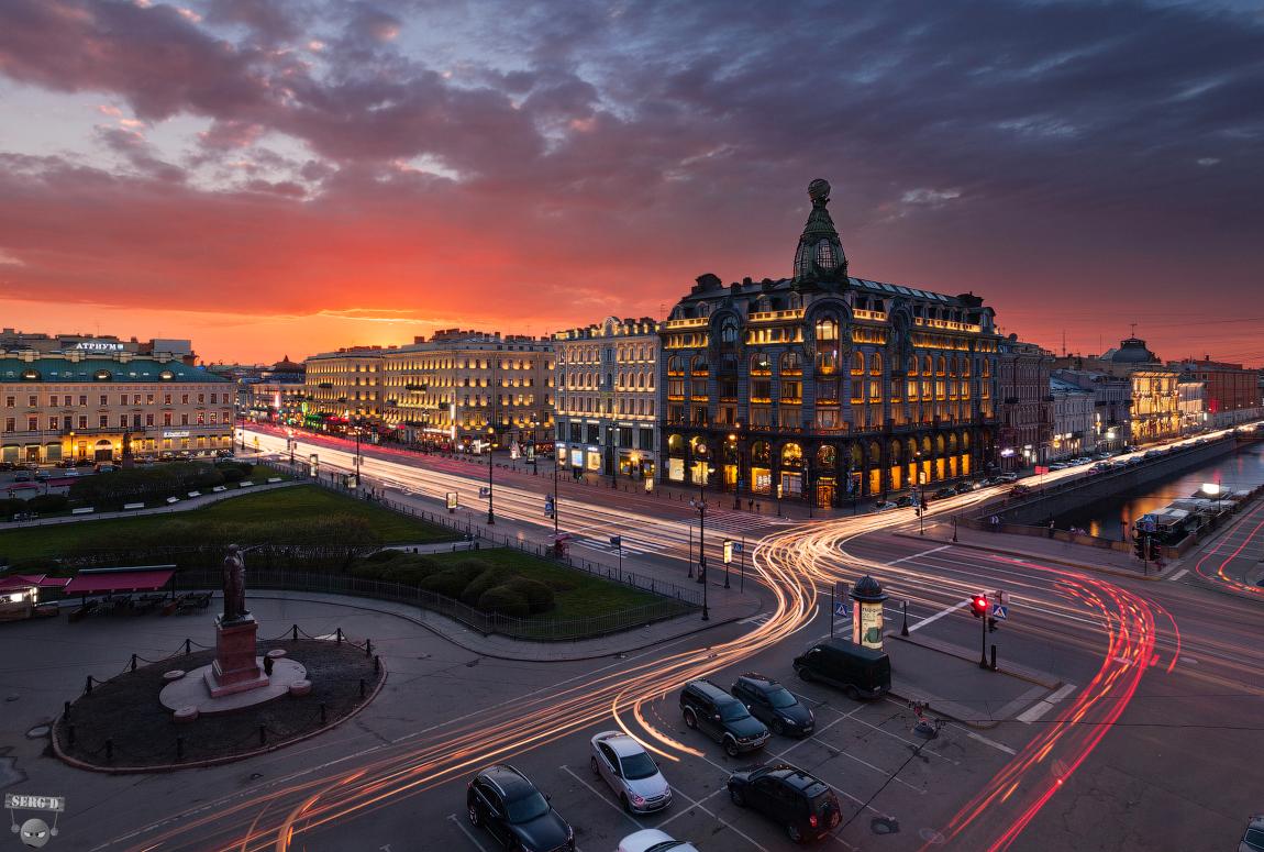 خیابان نوسکی پراسپکت سنت پترزبورگ