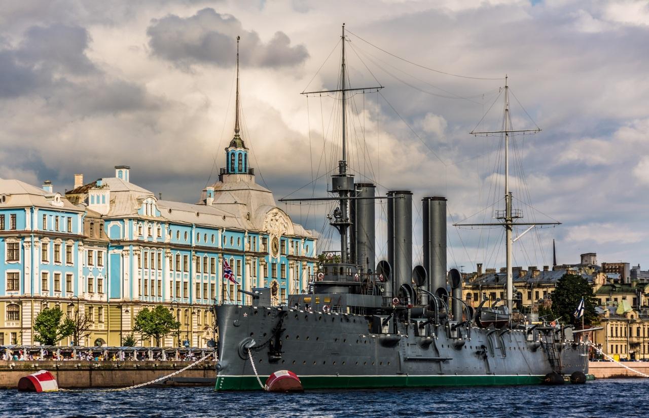 Photo of ناو جنگی آورورا سنت پترزبورگ | CRUISER AURORA