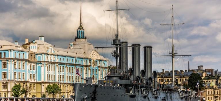 ناو جنگی آورورا سنت پترزبورگ | CRUISER AURORA