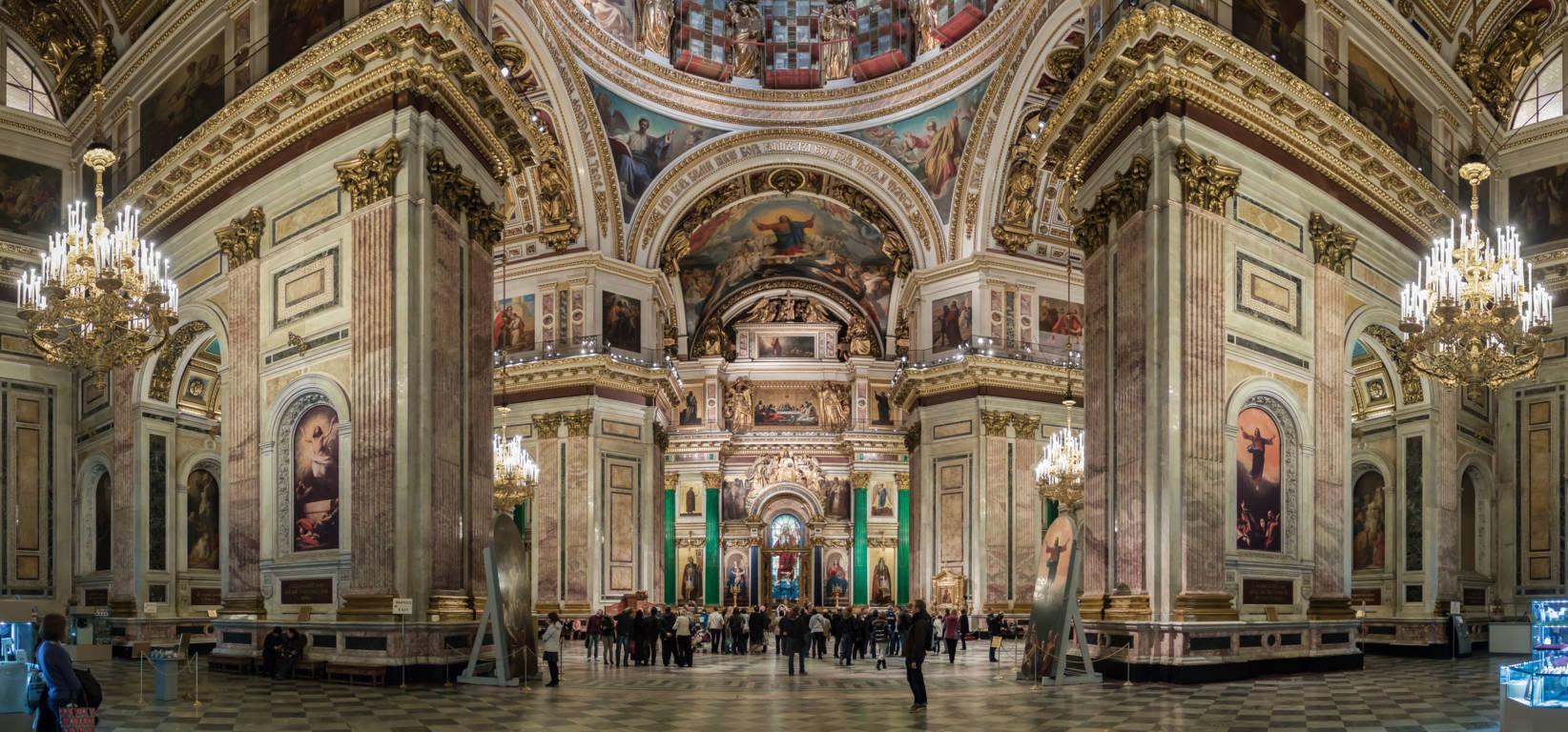 کلیسای اسحاق سنت پترزبورگ