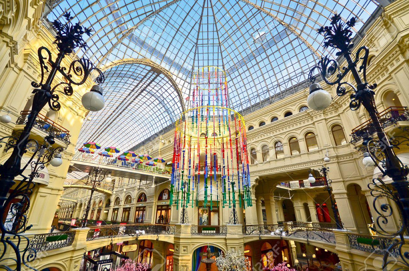 مراکز خرید مسکو - مرکز خرید گوم