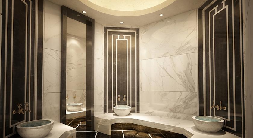 حمام ترکی هتل سولیس سوچی