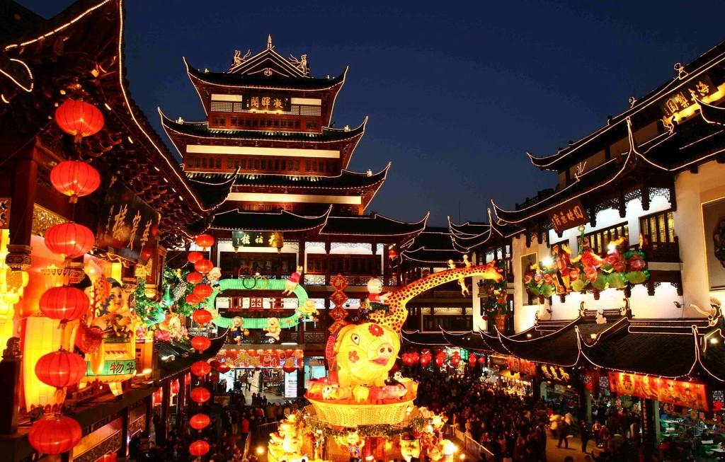 باغ یویوآن شانگهای چین