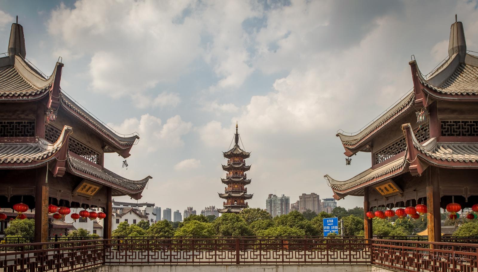 معبد لانگا شانگهای چین