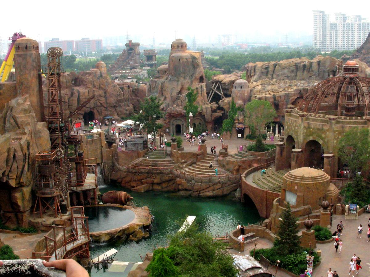 دره شادی شهر شانگهای