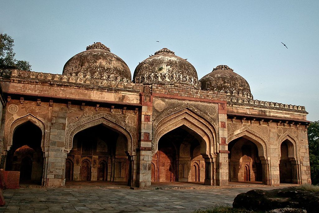 سه مسجد باغ لودی دهلی