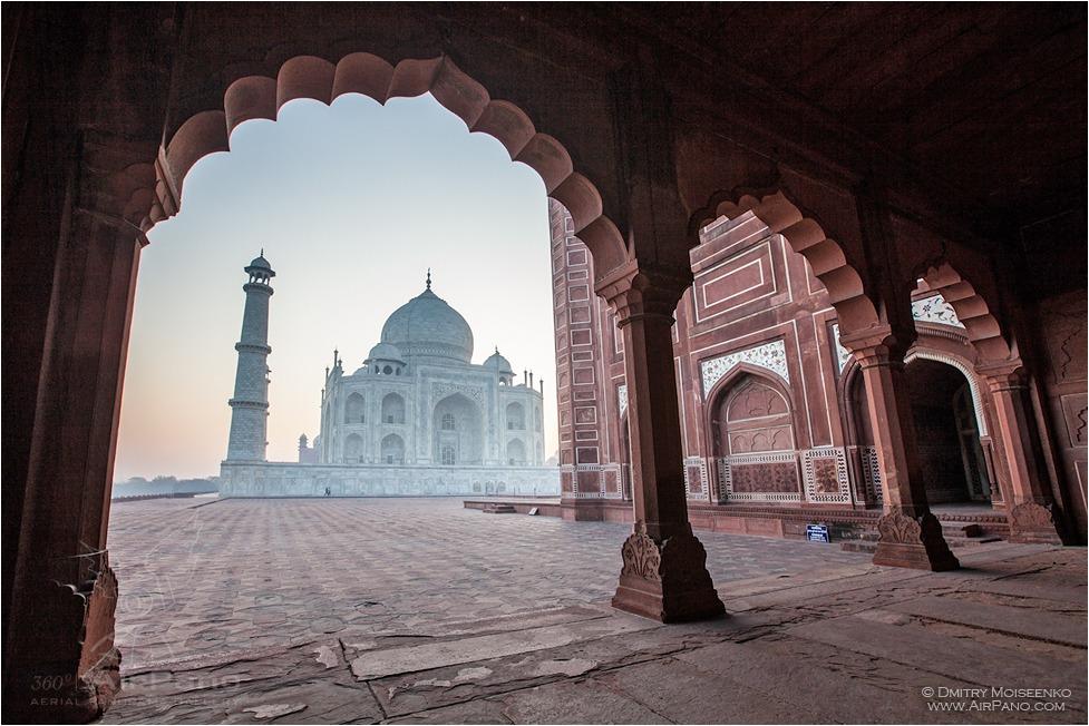 تاج محل آگرا هند
