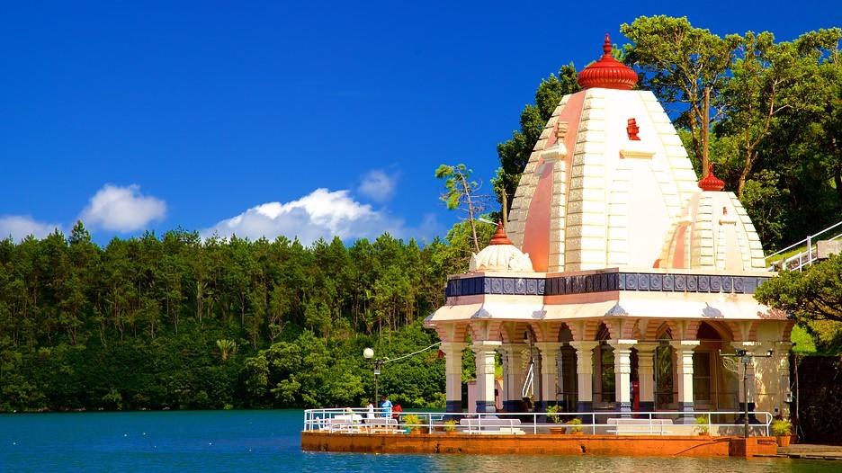 Photo of دریاچه گانگا تالائو موریس | معبد هندو های گرند باسین موریس