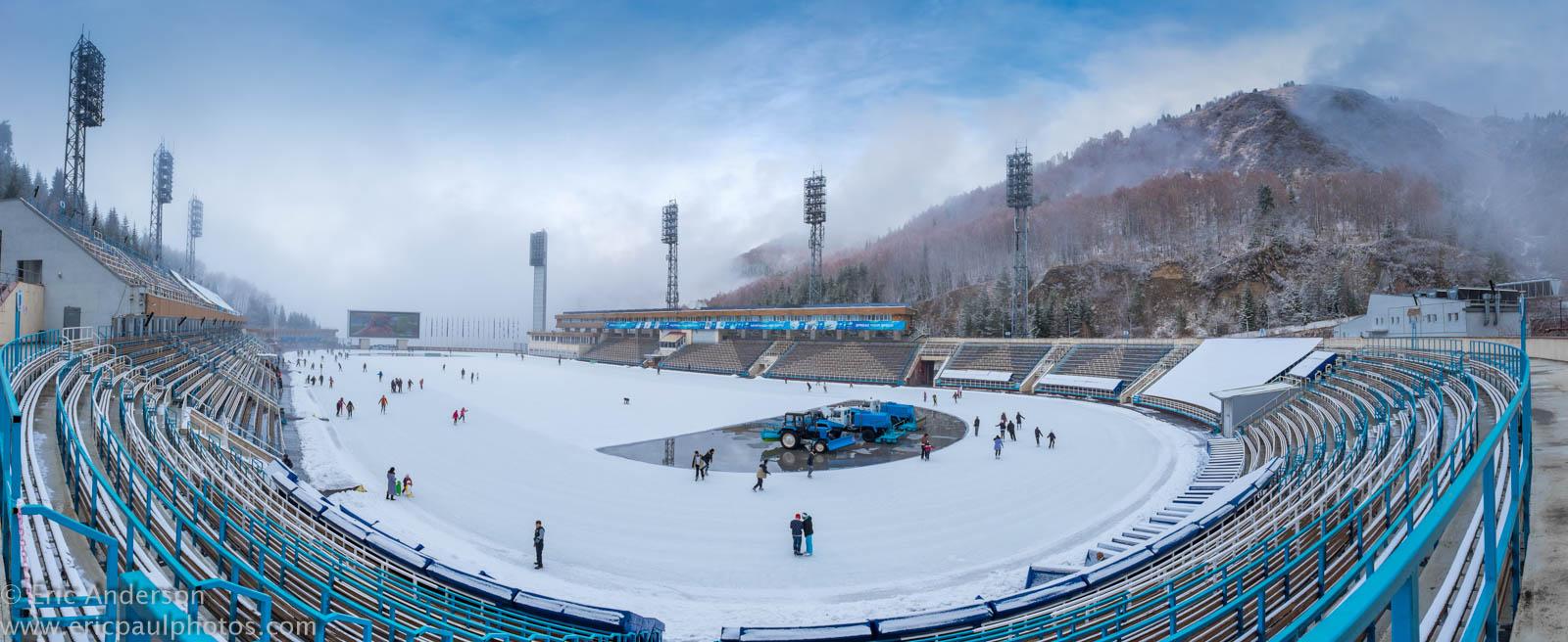 مجموعه ورزشی مدئو آلماتی قزاقستان