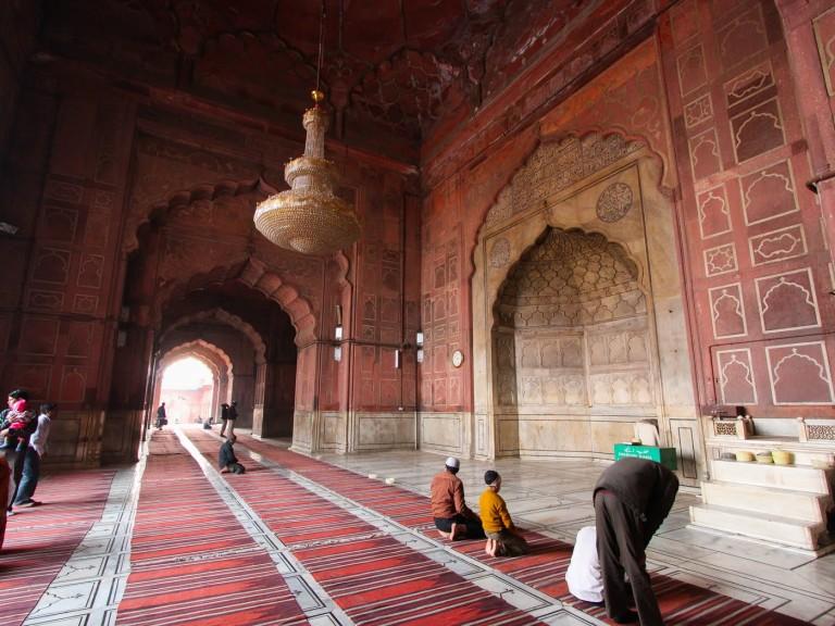مسجد جامع شهر دهلی