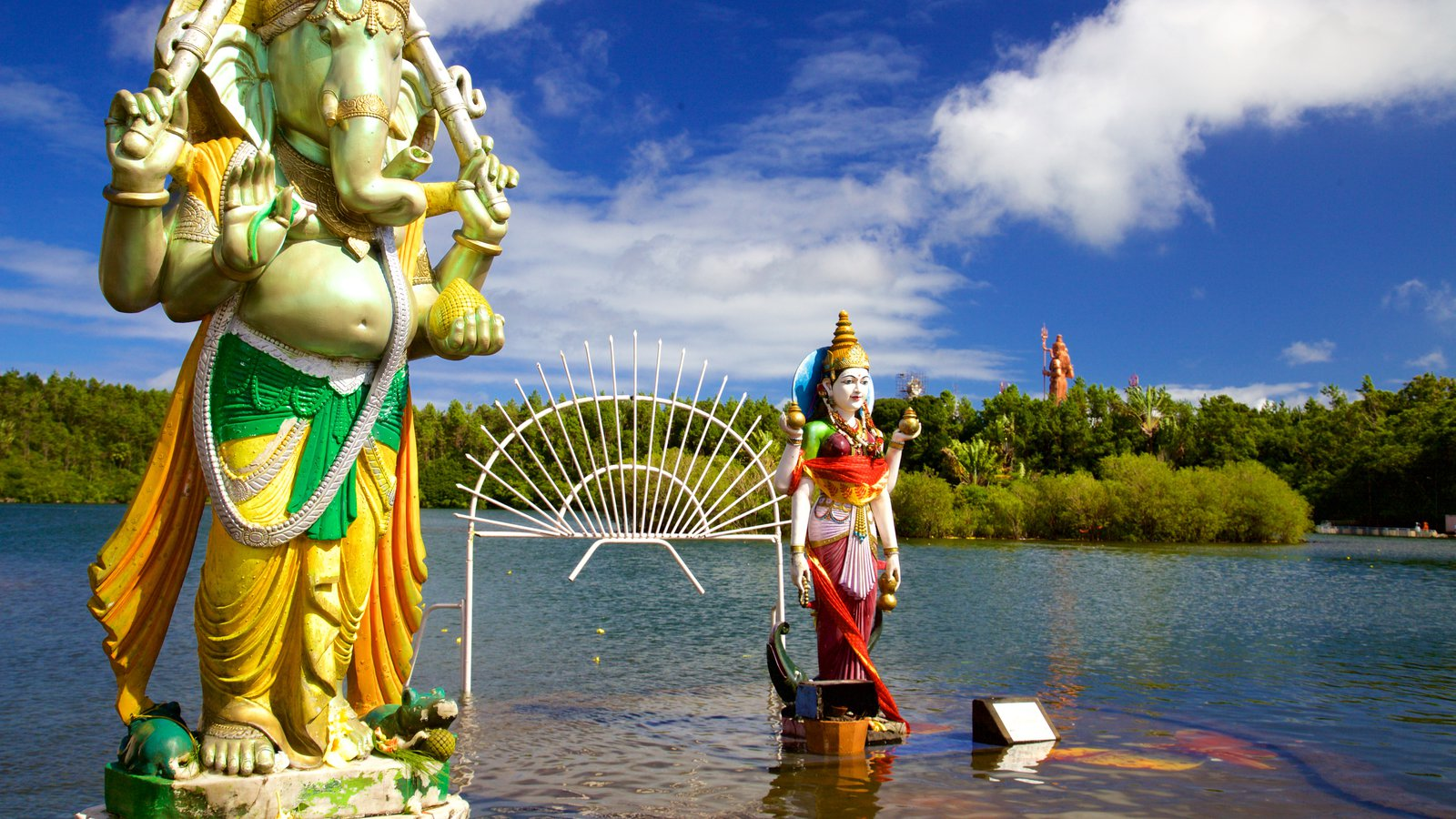 معبد هندوهای گرند باسین موریس