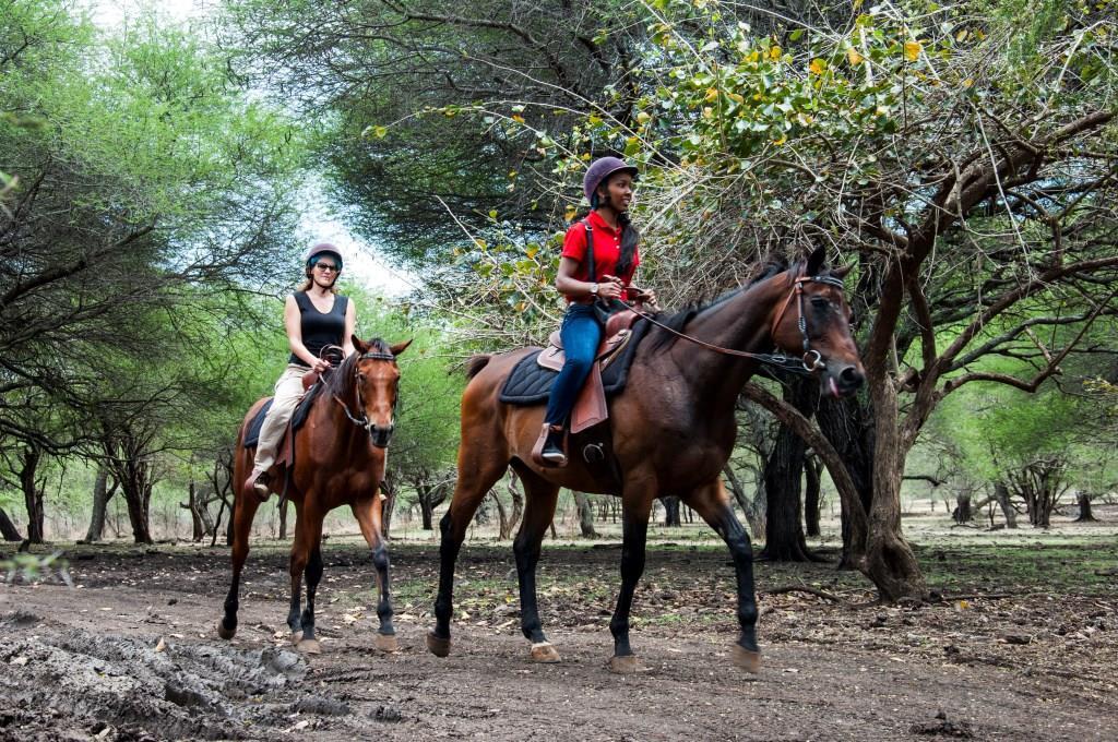 اسب سواری در پارک کازلا