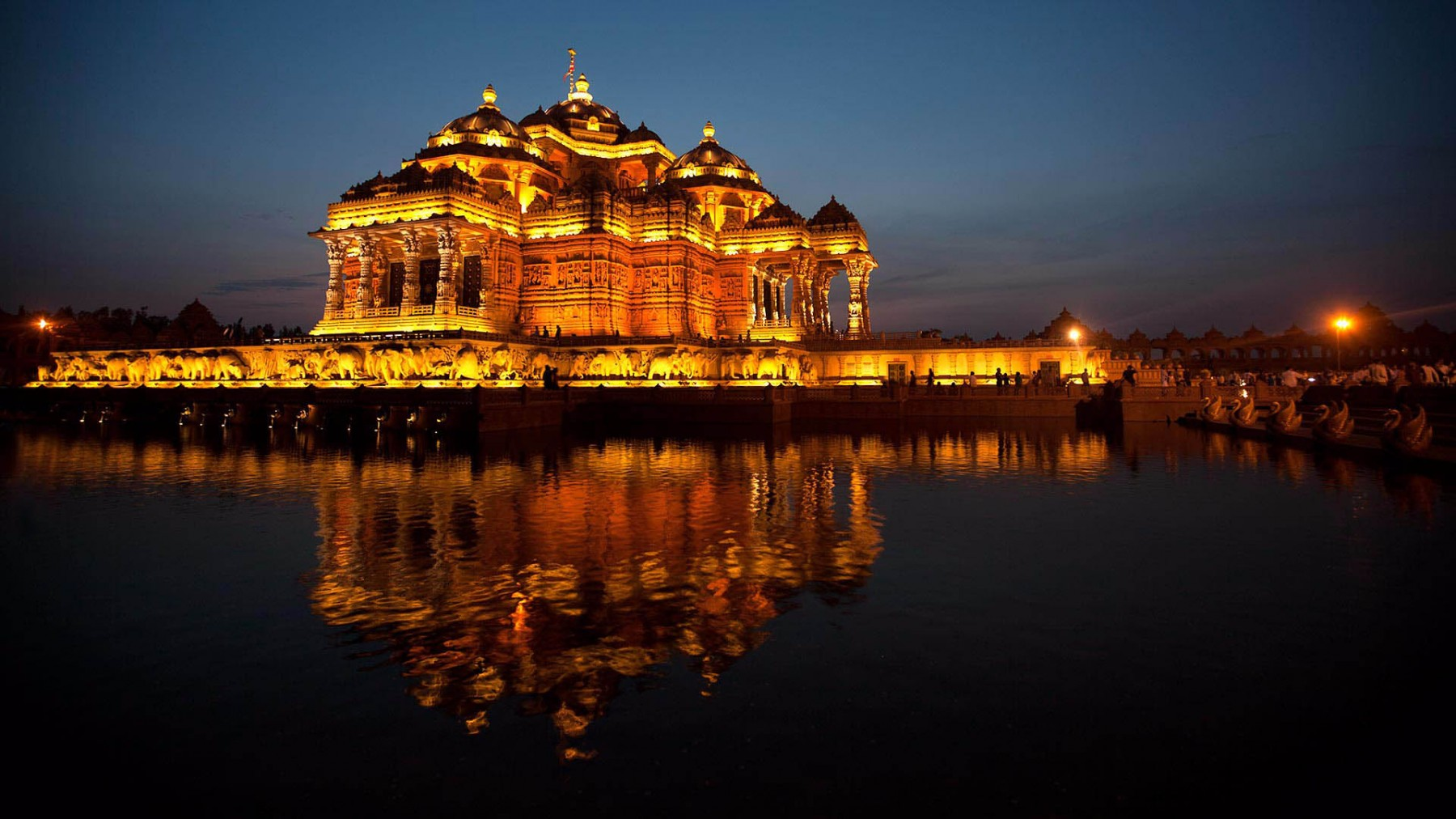 معبد آکشاردهام دهلی نو هند