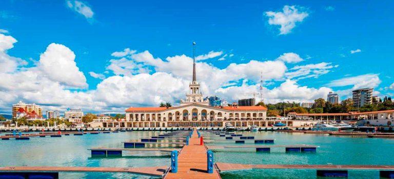 سوچی روسیه – بهشت ساحلی روس ها | فیلم زیبایی از سوچی