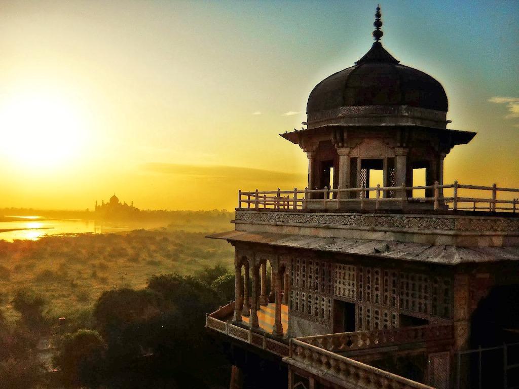 قلعه تاریخی آگرا هند