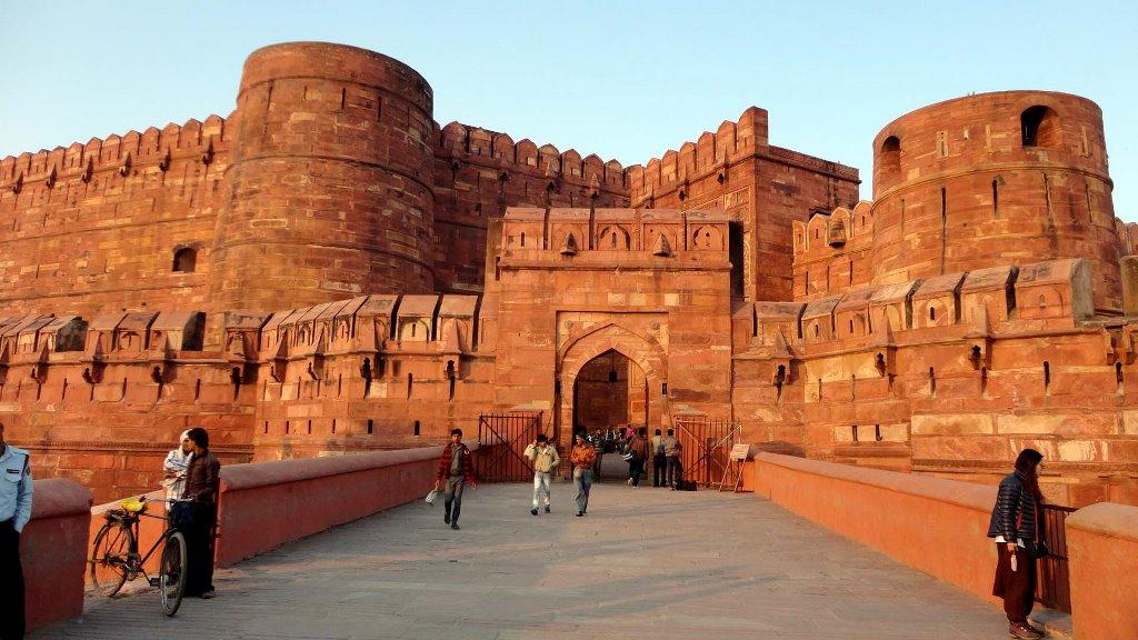 قلعه قرمز آگرا هند