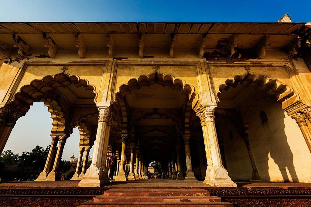 قلعه آگرا هند