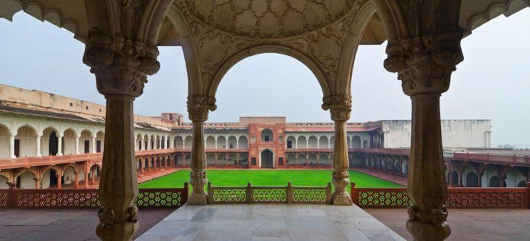 قلعه آگرا هند | لال قلعه آگرا | قلعه سرخ آگرا | AGRA FORT