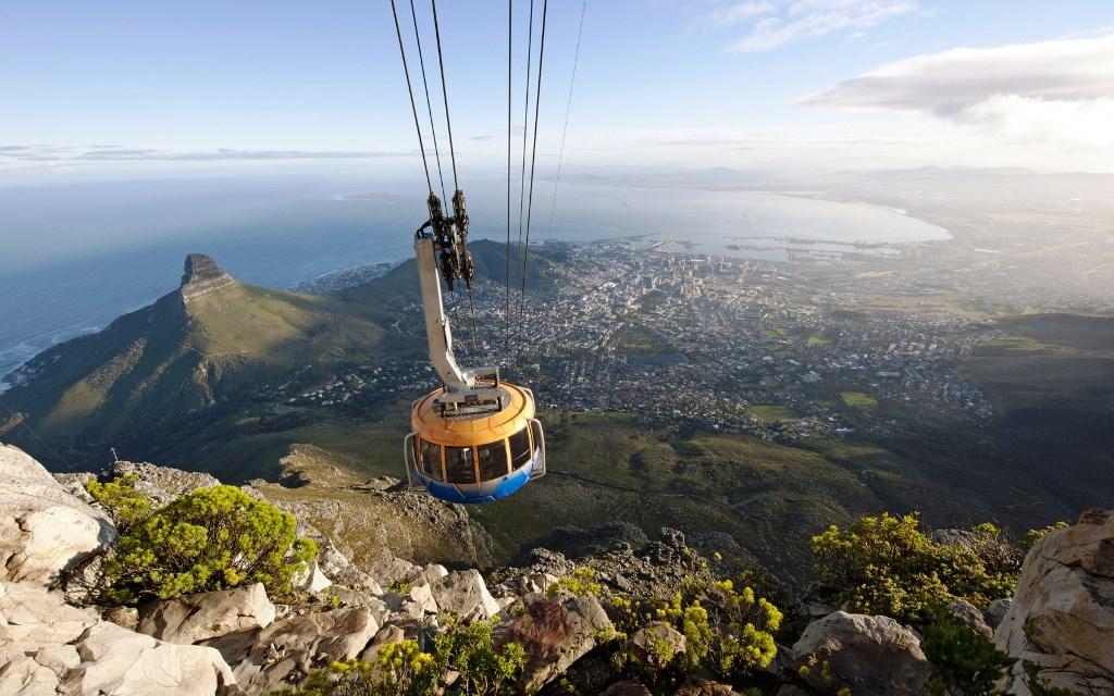 کوه تیبل آفریقای جنوبی