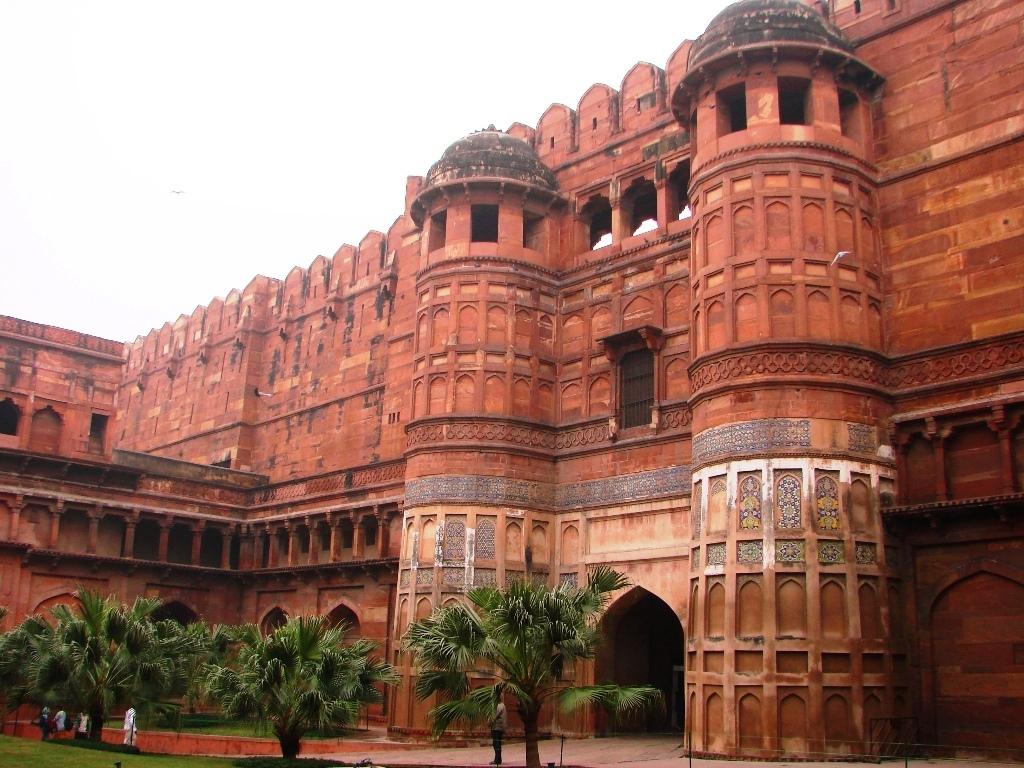 قلعه شهر آگرا هند