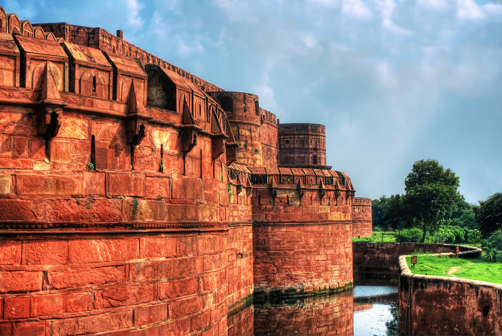 لعل قلعه آگرا هند