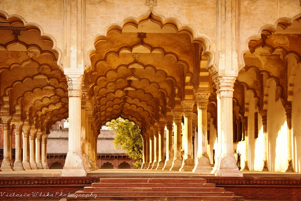 قلعه سرخ آگرا هند
