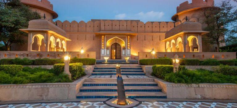 هتل ابروی راجویلاز جیپور هند|The Oberoi Rajvilas Jaipur