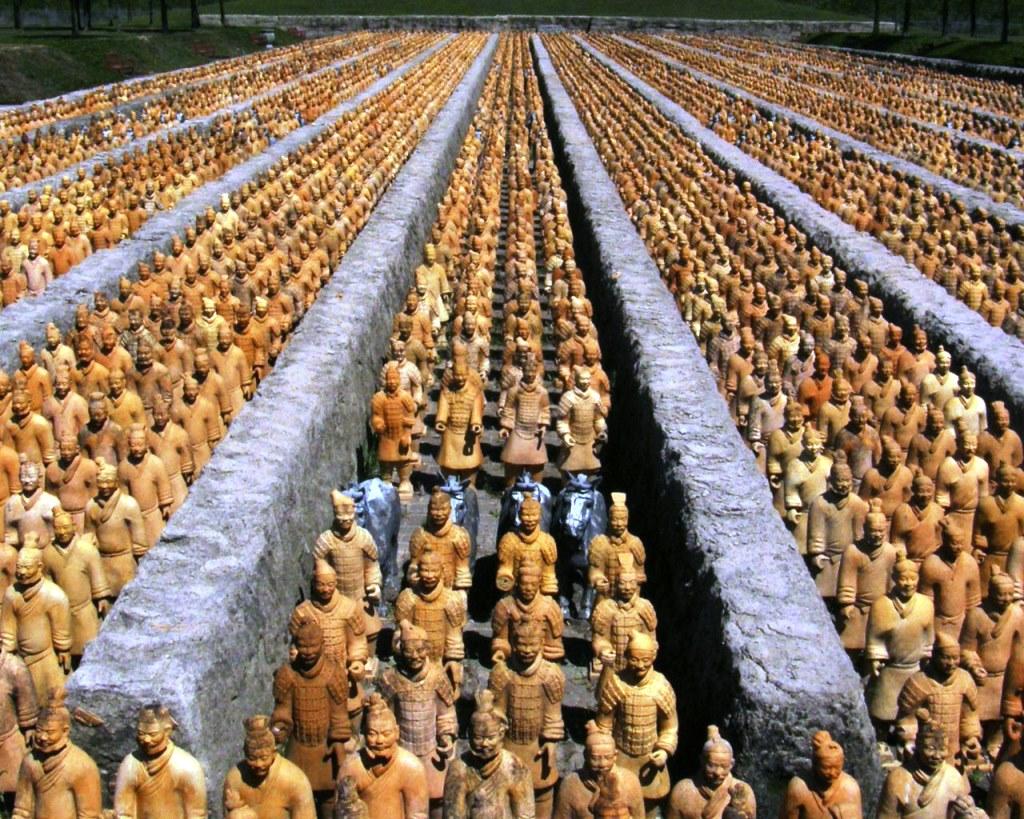 ارتش تراکوتا شیآن چین