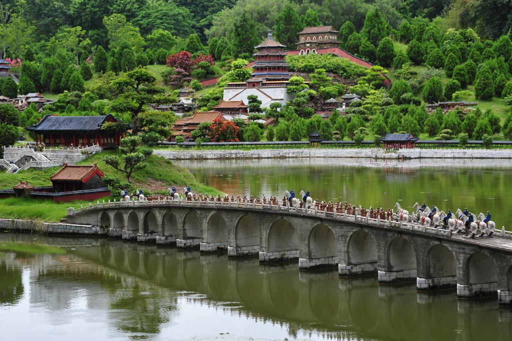 دهکده محلی شنزن چین