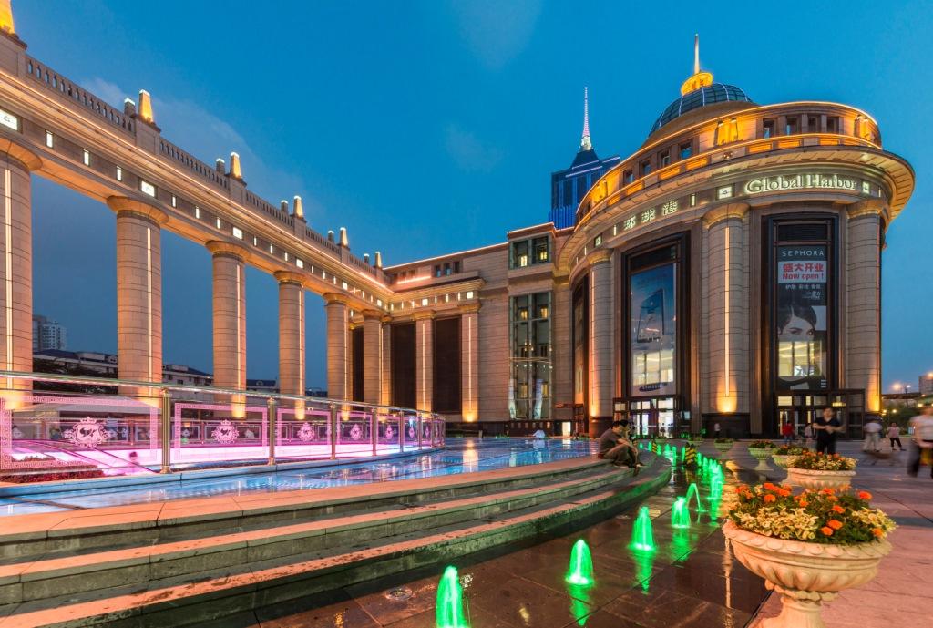 مراکز خرید شانگهای چین