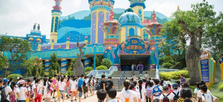 سیرک بین المللی گوانجو چین   Chimelong Circus