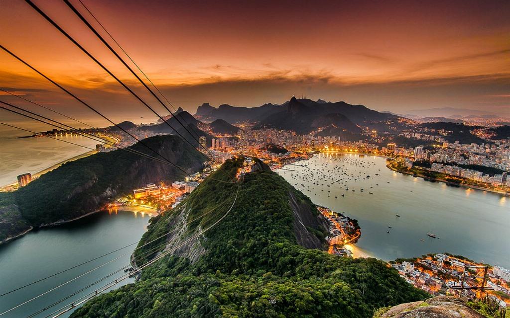 تله کابین ریو برزیل