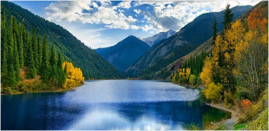 طبیعت گردی در قزاقستان