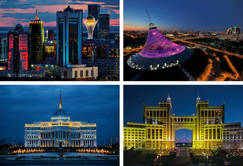 تور آلماتی و آستانه قزاقستان